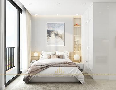 Thiết kế nội thất chung cư GreenBay căn Studio 28G3