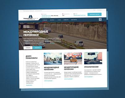 Transport Bus 24 / Landing page
