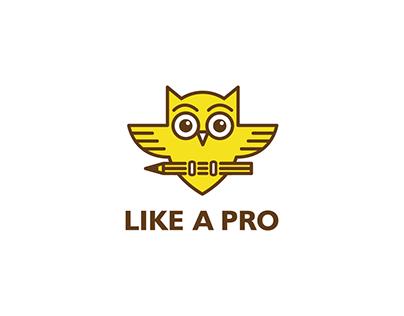 Like A Pro Logo Design