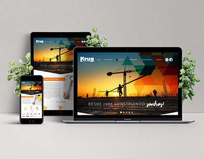 Website - Construtora Krug