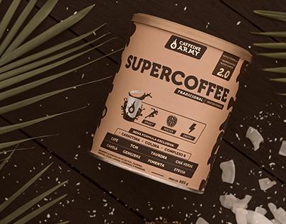 Linha SuperCoffee Caffeine Army