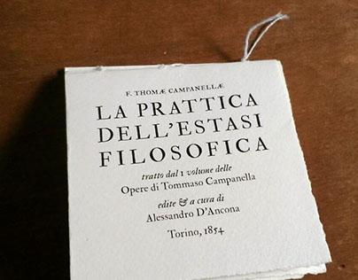 La pratica dell'estasi filosofica
