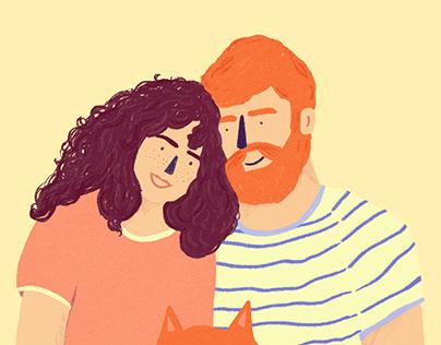 Couples+Pets