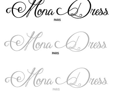 """Création de Logo et Carte de visite """"Mona Dress Paris"""""""