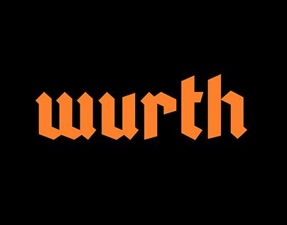 Wurth Typeface
