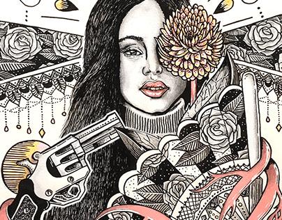 Rosalía | Illustration