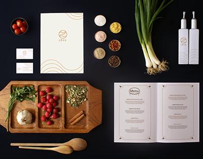 Zovq Restaurant Branding