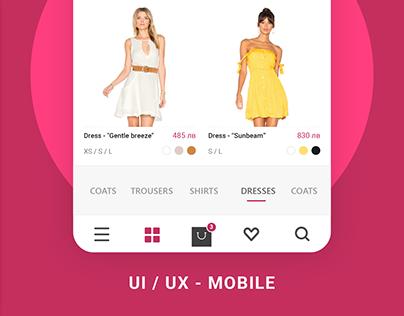 Linen- eCommerce app