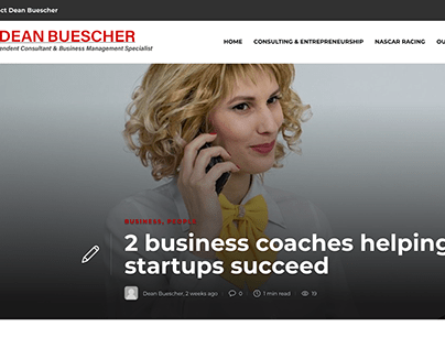 2 business coaches helping startups succeed