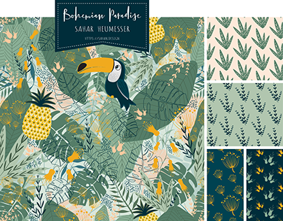 Bohemian Paradise - Pattern Collection