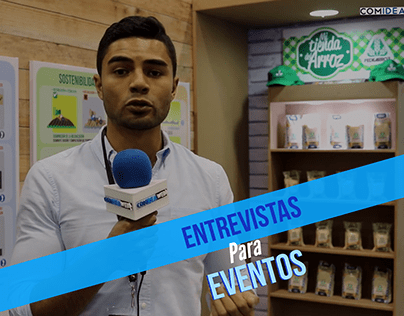Entrevistas para eventos - Corporate video Interviews