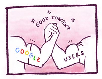 Humanising Technology Blog Illustrations