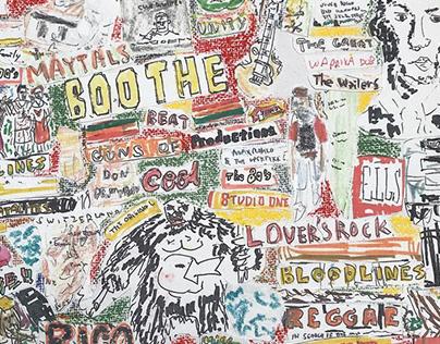 collage / reggae