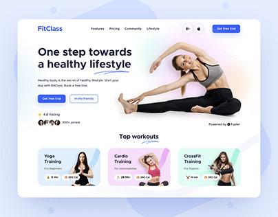 FitClass UI Design