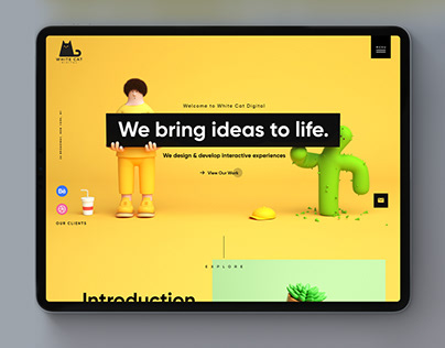 UI/UX   Landing pages collection 2017-2019