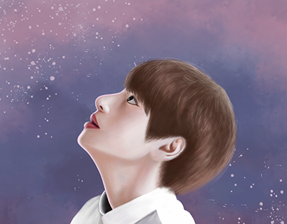 BTS- JUNGKOOK - Digital Illustration
