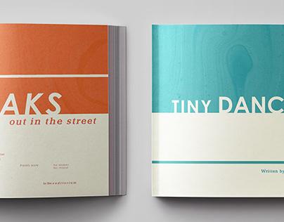Tiny Dancer Lyric Book