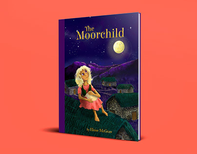 The Moorchild - Book cover illustration