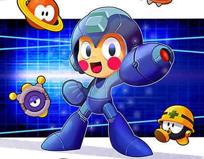 Megaman - Muestra Robots de Ciencia Ficción