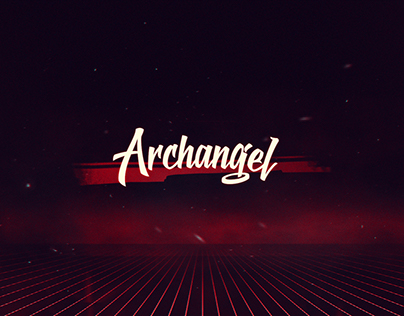 80s Synthwave Identity & Covers - Archangel