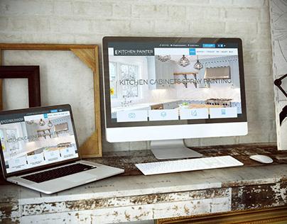 www.kitchenpainter.ie - WordPress Development