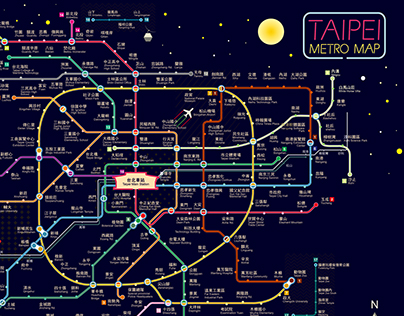 Taipei Metro Map
