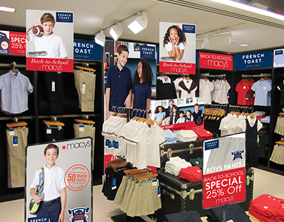 French Toast back-to-school pitch for Macys