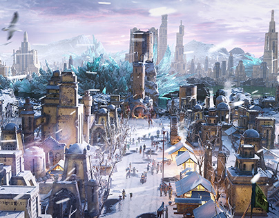 Ancient Winter City