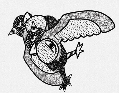 Cubism Birds