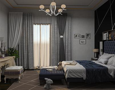 Bed Master-Room Design