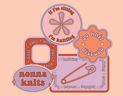nonna knits - Visual Branding