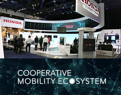 Honda Cooperative Mobility Ecosystem @ CES 2017