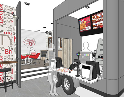 Subject: Restaurant Design - KFC