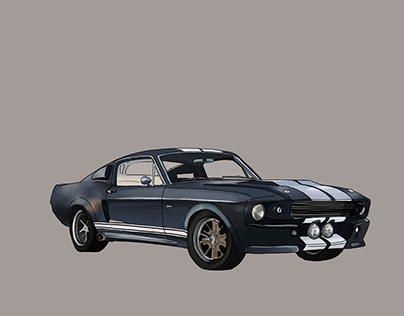 Car Sketches in PS | WIP
