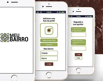 Meu Bairro App