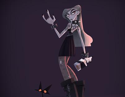 Lady gothic metal