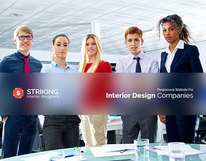 Striking Interior Design Template