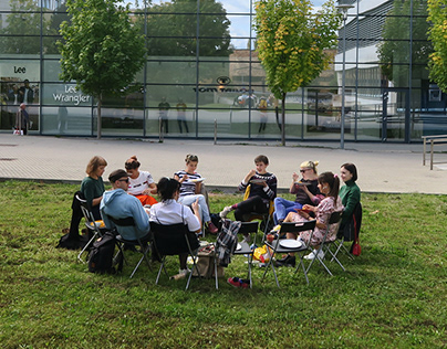 Public space activation / art residency in Žilina 2019