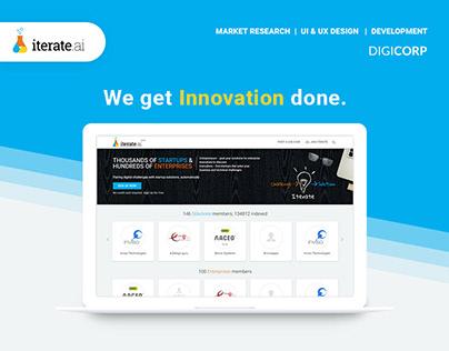 Iterate.ai UI & UX design