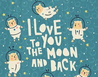 Bearstronauts poster