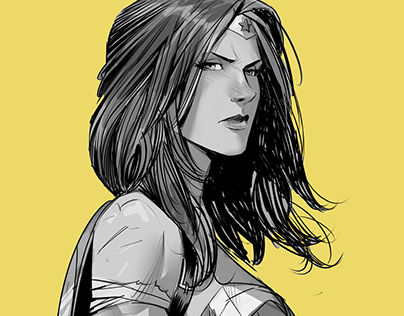 Wonder Woman yellow