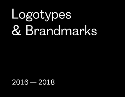 Mirrolab Logotypes & Brandmarks 2016 — 2018