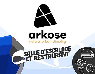 Arkose / natural urban climbing
