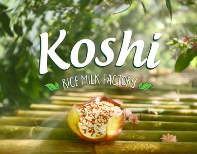 KOSHI | Rice Milk Factory