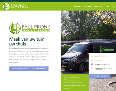 Website PP Hoveniers