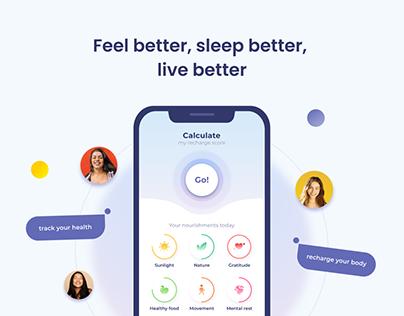 Envol - a mobile app to improve your health