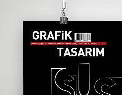 Grafik Tasarım Dergisi Afiş Tasarımı