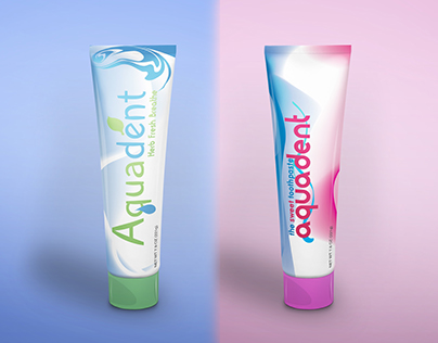 Aquadent Toothpaste Herbal & Kids Packaging