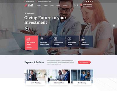 Blo-Corporate &Business (WordPress Website)