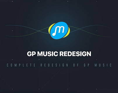 GP Music Redesign Concept